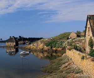 Moulin sur l'île de Bréhat