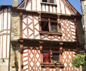 Maison à colombages de Saint-Brieuc