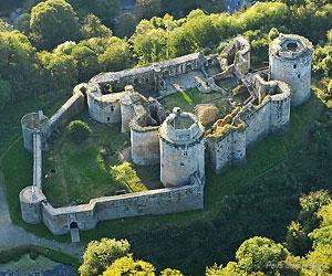 Vue du château de Tonquédec