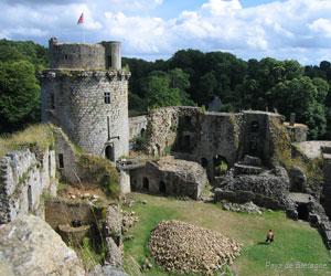 Ruines du château de Tonquédec