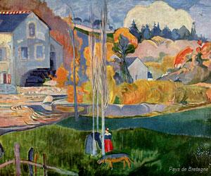 Le moulin David, Paul Gauguin