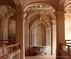 Intérieur du château de Trévarez