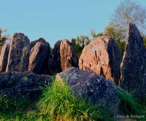 Mégalithes en forêt de Brocéliande