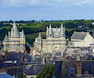 Autre vue du château de Vitré