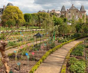 Jardin botanique au parc du Thabor