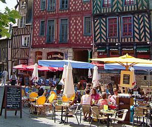 Place Sainte-Anne à Rennes