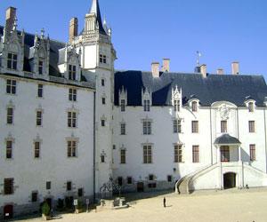 Résidence ducale dans la cour intérieure