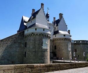 Entrée principale du château de Nantes