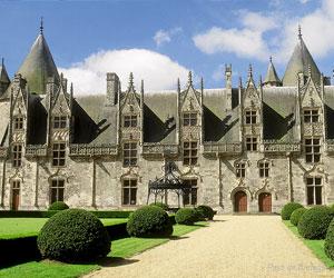 Façade du château de Josselin