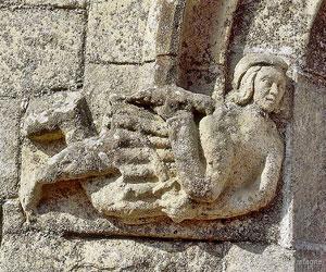 Détail d'architecture au château de Josselin