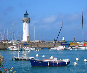 Port et phare à Quiberon