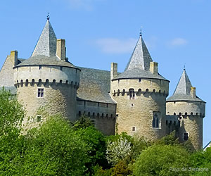 Tours du château de Suscinio